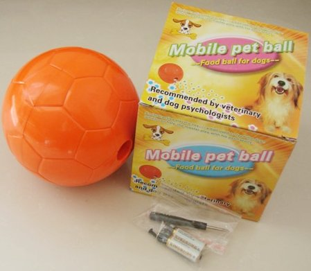 Mobile pet ball - food ball for dog