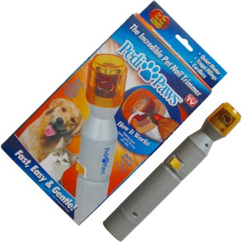 Pedi Paws painless pet nail GROOMING - TRIMMER