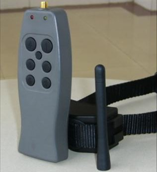 Remote control dog training VIBRATION + STATIC SHOCK collar / 6 LEVELS