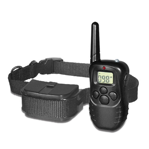 !NEW! Remote control dog training LCD + VIBRATION + STATIC SHOCK collar / 1 DOG