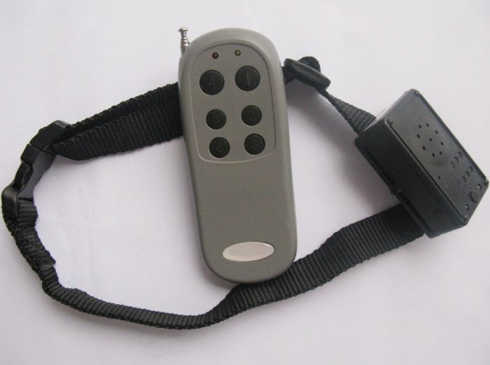 Remote control dog training RECORDABLE VOICE collar
