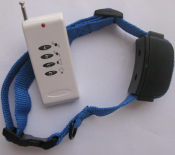 Remote control dog training VIBRATION + SOUND + LED collar