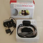 STOP dog barking collar - SHOCK / rechargeable + adjustable sensitivity