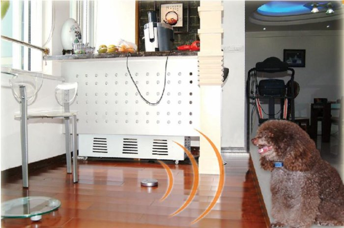 indoor dog FENCE system with electric shock collar / M02